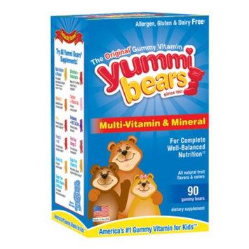 Yummi Bears Multivitamin & Mineral