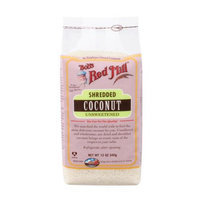 Bobs Red Mill Shredded Coconut Unsweetened, 12-Ounce Bag