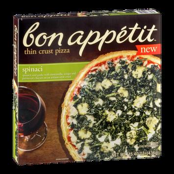 Bon Appetit Thin Crust Pizza Spinaci
