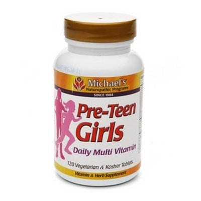 Michael's Naturopathic Programs Pre-Teen Girls Daily Multi Vitamin
