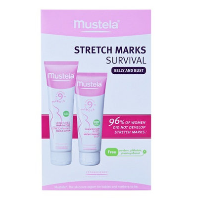 Mustela Stretch Marks Survival Set-Belly and Bust, 8.2 oz