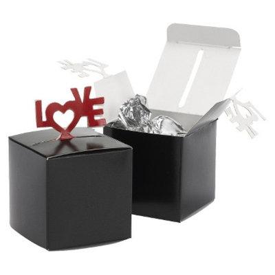 Hortense B. Hewitt Love Pop-Up Favor Box - Black/Red