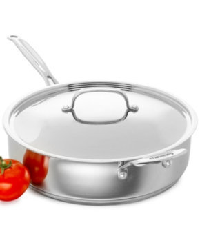 Cuisinart Saute Pan with Helper Handle & Cover