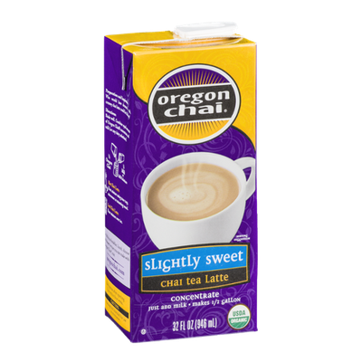 Oregon Chai Slightly Sweet Chai Tea Latte Concentrate