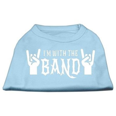 Ahi With the Band Screen Print Shirt Baby Blue XS (8)