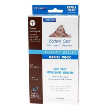 The First Years Bottom Care Diaper Rash Treatment Sleeves - 30 Count