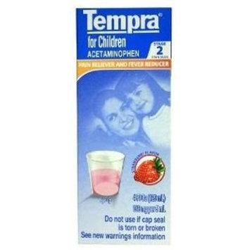 Tempra Stage 2 Childrens 4 oz - Analgesico Ninos Segunda Etapa