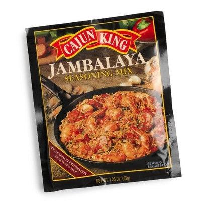 Cajun King Jambalaya Seasoning Mix, 1.25-Ounce Packages (Pack of 24)