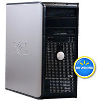 Optiplex Dell Off-Lease, Refurbished 780 Desktop PC with Intel Core 2 Duo Processor, 4GB Memory, 1TB Hard Drive and Windows 7 Professional (Monitor Not Included)