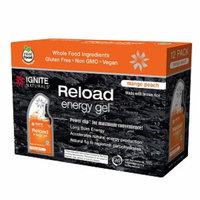 Ignite Naturals Reload Energy Gel Packs, Mango Peach, 12 ea