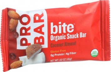 Probar Llc Probar Bite Coconut Almond Organic Snack Bar - 12 Count