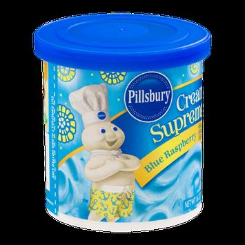 Pillsbury Creamy Supreme Frosting Blue Raspberry
