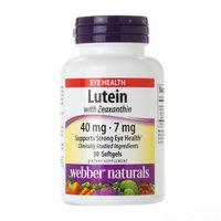 Webber Naturals Lutein with Zeazanthin 40mg