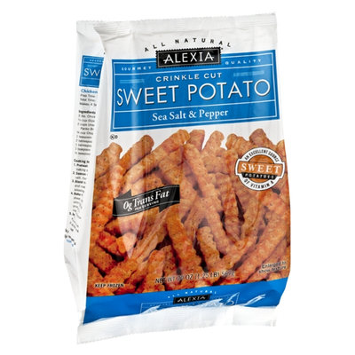 Alexia All Natural Sea Salt & Pepper Crinkle Cut Sweet Potato