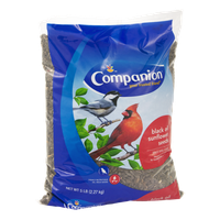 Companion Wild Bird Food Black Oil Sunflower Seeds