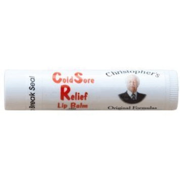 Dr Christophers Dr. Christopher Cold Sore Relief Lip Balm Specialty - 0.14 Oz