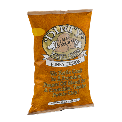 Dirty All Natural Potato Chips Funky Fusion