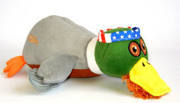 Duck Dynasty Willie Duck Plush Dog Toy Large