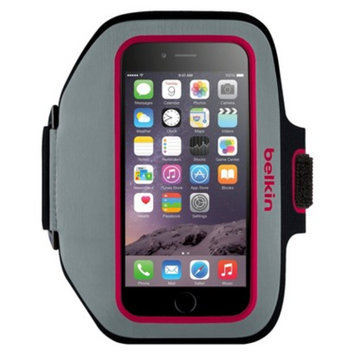 Belkin Sportfit Plus Cell Phone Armband for iPhone 6 - Pink (F8W501-