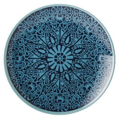 Threshold Coastal Melamine Appetizer Plate Set of 4 - Aqua