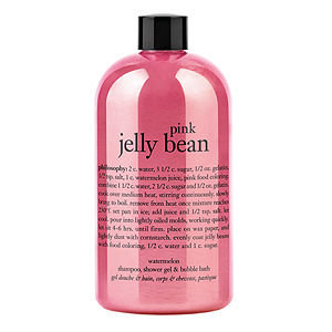 philosophy pink jelly bean shampoo