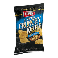 Herr's® Extra Crunchy Kettle Cooked Potato Chips Hearty Classic