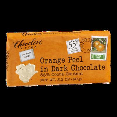 Chocolove Orange Peel In Dark Chocolate