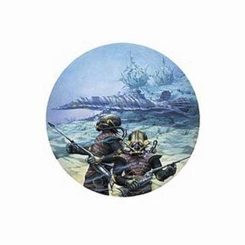 Blue Opal 20,000 Leagues Under the Sea Jigsaw Puzzle Ages 10+, 1 ea