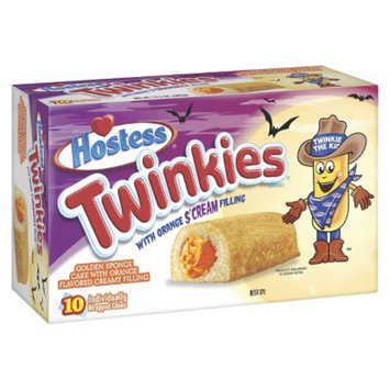 Hostess Twinkies With Orange S'Cream Filling 13.5 oz 10 ct