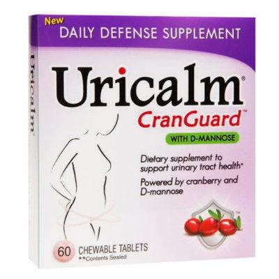 Uricalm CranGuard Chewable Dietary Supplement, Cherry, 60 ea