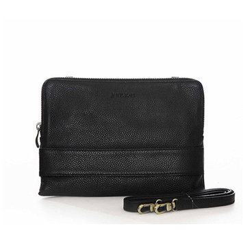 JILL-E DESIGNS LLC Jill-E Designs LLC Ivy Leather Tablet Clutch, Black