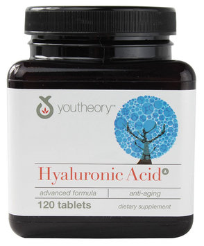Youtheory Hyaluronic Acid Advanced Formula - 120 Tablets
