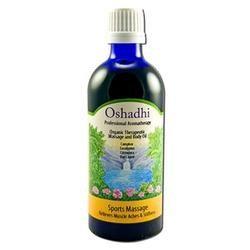 Oshadhi - Massage Oil, Sports Massage Organic, 100 ml