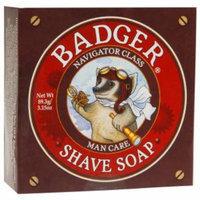 Badger Shave Soap Navigator Glass Men Care, 3.15 oz