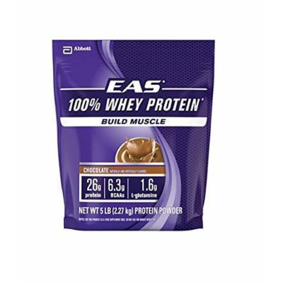EAS 100% Whey Protein Chocolate, 5-Pounds