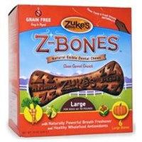 Zukes Performance Pet Zukes Z-Bones Carrot Large - 6 pack