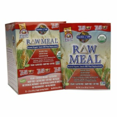 Garden Of Life Garden of Life Organic RAW Meal Gluten Free Vanilla Spiced Chai - 10 Packets