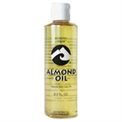 Natural Skin Care Oil, Almond, 8.5-Ounces (Pack of 3) - Mountain Ocean