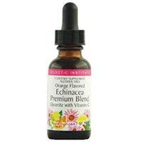 Eclectic Institute Echinacea Premium Blend Orange Flavor - 1 Ounces Liquid - Other Herbs