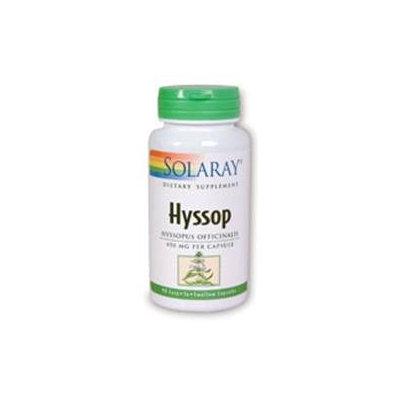 Solaray Hyssop - 90 Capsules