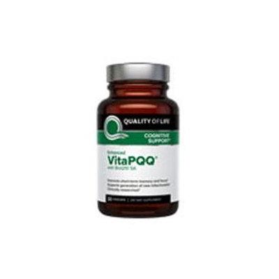 Quality of Life VitaPQQ - 20mg PQQ - 30 Vegetarian Capsules