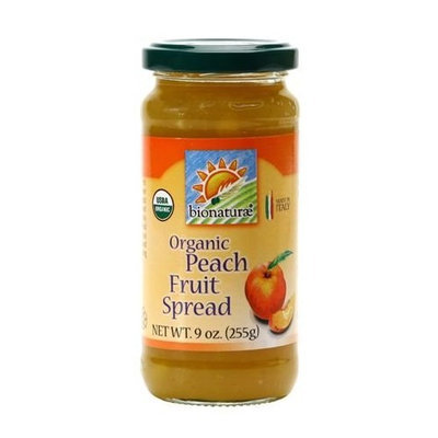 Bionaturae Organic Peach Fruit Spread 9 OZ