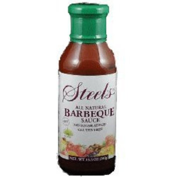Steel's Gourmet Agave Barbeque Sauce -- 13.5 fl oz