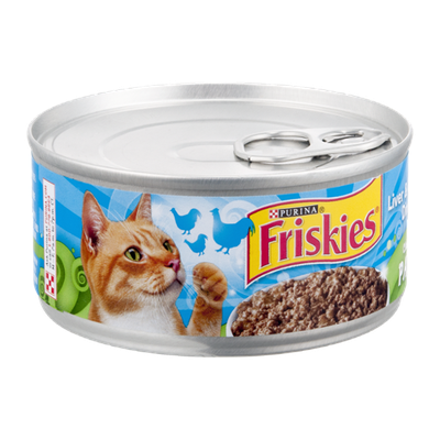 Purina Friskies Classic Pate Liver & Chicken Dinner