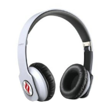 Noontec Zoro Headphones, White, 1 ea