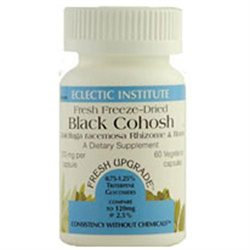 Eclectic Institute Black Cohosh - 370 mg - 60 Vegetarian Capsules