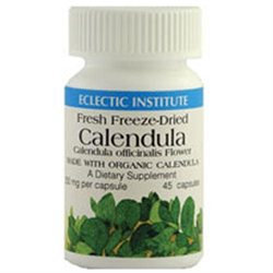 Eclectic Institute Calendula Freeze-Dried 250 MG - 45 Capsules - Other Homeopathics
