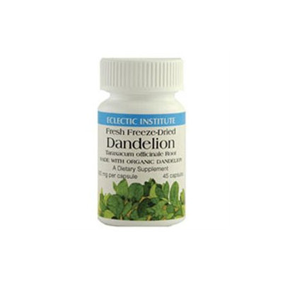 Eclectic Institute Dandelion Rt Freeze-Dried 400 MG - 50 Capsules - Other Herbs