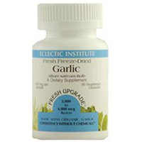 Eclectic Institute Inc Garlic 550 Mg 553 Mg 90 Caps