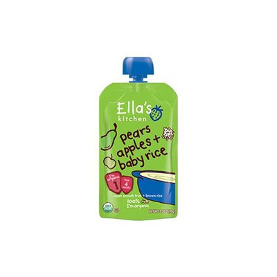 Ella's Kitchen Organic Baby Food Pouch - Pears Apples Baby Rice (7